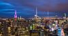 Manhattan_NYC_Mai2018 (Guillaume BERTHON - AéroSpot66) Tags: manhattan nyc ny newyork topoftherock night blue light