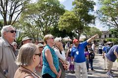 Liz listening (jjknitis) Tags: hollandamerica maasdam april28 2018 guatemala antigua edgar tourguide centralpark