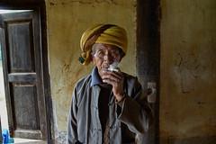 Burmese farmer's morning puff (Khun_K) Tags: farmer smoking myanmar burmese burma portr portrait