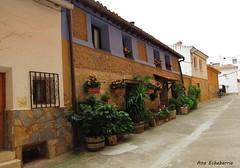 Casas con encanto (kirru11) Tags: casas flores plantas calle tiestos quel larioja españa kirru11 anaechebarria canonpowershot