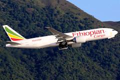Ethiopian Cargo   Boeing 777-200LRF   ET-ARJ   Hong Kong International (Dennis HKG) Tags: aircraft airplane airport plane planespotting canon 7d 100400 hongkong cheklapkok vhhh hkg ethiopian ethiopianairlines eth et cargo freighter boeing 777 777200 boeing777 boeing777200 777200f boeing777200f 777200lrf boeing777200lrf etarj