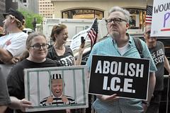 jail (greenelent) Tags: notrump protest demonstration riseandresist streets people activists nyc newyork