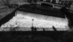 The Akerselva in Nydalen (jonarnefoss2013) Tags: xf1024f4 fujifilmxt2 sorthvitt norway oslo akerselva