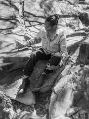 mutawintji heritage tour - 1386 (liam.jon_d) Tags: nsw mono aboriginal aboriginalguide aboriginalwoman aborigine arty australia australian bw billdoyle blackandwhite bynango bynangorange bynguano bynguanorange carving cultural culturalsite culture female gallery glyph guidedtour heritage heritagesite indigene indigenous inland intaglio landscape monochrome mootwingee mootwingeenationalpark mutawintji mutawintjiheritagetours mutawintjinationalpark nationalpark nationalparksandwildlife newsouthwales outback outbacknewsouthwales outbacknsw party peckedintaglio petroglyph portrait reserve sacredsite tour touring west western westernnewsouthwales westernnsw woman pickmeset peopleimset portraitimset
