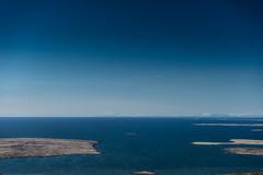 DSC04537 (Guðmundur Róbert) Tags: iceland moutain biking mtb bikes mountain hjól reiðhjól hjóla cycling mountains sky blue sony a7ii kit lens landscape intense cube 29er downhill uphill view island ísland black white