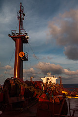 Power (langdon10) Tags: atsea canon70d gulfofmexico laurentiadesgagnes navigation ship sunset tanker nautical ocean