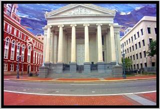 New Orleans  Louisiana - Gallier Hall - Former City Hall - CBD