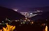 Vista da Torre do SBT para Nova Friburgo (Spotter Serrano) Tags: sbt nightview visãonoturna torresbt novafriburgo riodejaneiro errejota rj nova friburgo