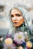 Young Woman with Flowers (Kalev Vask.) Tags: digital kalevvask postprocessed photoshop photomanipulation digiart photoart painterly artistic creative estonia manipulated phototopainting portrait woman