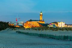View to the Warnemünde lighthouse (bruening_marco) Tags: mole rostock mecklenburgvorpommern meckpomm strand beach teepott balticsea baltic ostsee warnemünde leuchtturm lighthouse