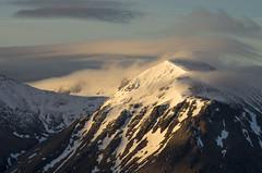 Highland Glow (andy_grundy) Tags: sunrise highlands cloud pentaxk5 scotland beinnachrulaiste mountain landscape creise snow