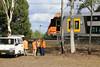 Waratah Series 2 Set B1 at Clarendon undergoing noise testing (Photography Perspectiv) Tags: train railway railroad sydneytrains waratah testtrain passenger emu series2 bset clarendon