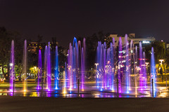 Fountain Lights (Purple) (Mark Pilar) Tags: philippines travel photography various nikon d3200 capture moment places place pi traveling photograph it love enjoy positive nature subject awesome epic journey fun explore nikkor dslr moments enjoyment wild alive live beyond amazing world cultures happy nice motion different people animal all everyday liveitup view flickr born unique lightroom edit outstanding everything travelphotography naturelovers fullest lighting selection cool chill chillin capturethemomment worthy popular pop pointofview constant good elegance aware photoshoot photos baguiocity city urban