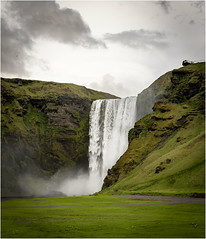Spring at Skogafoss (MountainMan5000) Tags: iceland skogafoss waterfall