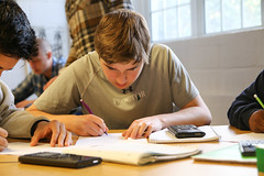 IMG_7085 (proctoracademy) Tags: academics algebra2 classof2019 math newtonjack