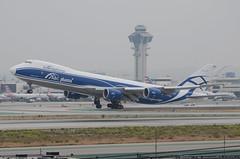 AirBridgeCargo Pharma Livery 747-8HVF (VP-BBP) LAX Takeoff 1 (hsckcwong) Tags: airbridgecargo airbridgecargoairlines 7478hvf 747800f 7478f 747800 vpbbp lax klax airbridgecargopharma pharmagatewayamsterdam pga