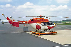 D-HMUF   MBB/Kawasaki BK117B-2 [7105] (Deutsche Rettungsflugwacht) Nuremberg-Nurnberg~D 23/04/2001 (raybarber2) Tags: 7105 airportdata approachtodo cn7105 dhmuf eddn flickr germancivil helicopter
