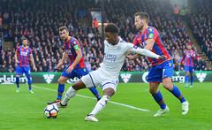 Crystal Palace v Leicester City (Alex Hannam) Tags: sport soccer clubsoccer london england unitedkingdom gbr crystalpalace leicester city lcfc cpfc leicestercity demaraigray