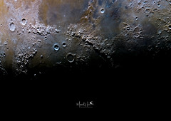 Good morning Mare Imbrium (manuel.huss) Tags: moon surface crater terminator mineral color mare imbrium astronomy astrophotography telescope maksutov asi178mc space light shadow moonscape luna lunar