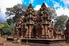Banteay Srei  - Angkor Cambodia (Dan Denison) Tags: cambodia temple angkor hdr pentax