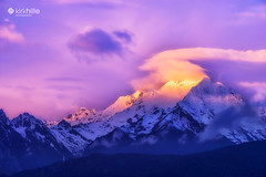 Meili Snow Mountain Shangri-la China Sunrise (kirkhillephotography) Tags: meili snow mountain shangrila china sunrise landscape landscapephotography kirkhille photography photo photoshop travel travelphotography nature sunset wallpaper free highresolution