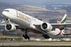 A6-ENZ Boeing 777-300ER Emirates Glasgow airport EGPF 23.03-18 (rjonsen) Tags: plane airplane aircraft aviation rotation flying flight trippleseven