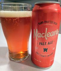 mmmm....beer (jmaxtours) Tags: mmmmbeer macleanspaleale macleansales hanoverontario macleans paleale hanover ale beer greycountyontario greycounty
