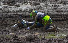 Down In The Mud (John Kocijanski) Tags: people motorcycle motocross dirtbike vehicle canon70300mmllens canon7d race sport