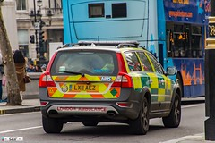 Volvo XC70 London England 2018 (seifracing) Tags: volvo xc70 london england 2018 rapid response vehicle ambulance service seifracing spotting services security europe emergency recovery road traffic ambulances accident uk urgence seif officers photography