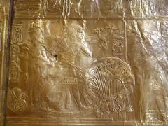 Tutankhamun hunting Birds (Aidan McRae Thomson) Tags: tutankhamun cairo museum egypt ancient egyptian