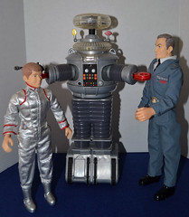 You Bubble-headed Booby! (trev2005) Tags: lost space figures doll action figure billy mumy jonathan harris will robinson dr smith lostinspace classic series robot b9