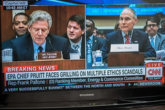 On the Hot Seat (lclower19) Tags: odc grill grilling scottpruitt congress us tv television
