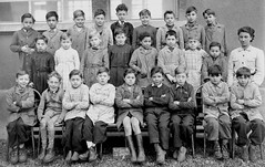 Class 8 (theirhistory) Tags: boy child children kid school group class form pupils students teacher jacket jumper trousers shoes wellies boots
