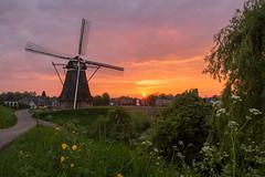 Dutch Sunset (State of Decay) Tags: dutch landscape sunset windmill netherlands holland zonsondergang waardenburg nederland sky lucht landschap