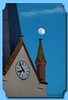 L'église et son Bilboquet (jamesreed68) Tags: hartmannswiller église ciel lune 68 hautrhin paysage nature alsace grandest france canon eos 600d groupenuagesetciel