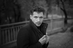 Francesco (francesco ercolano) Tags: man male emotive bn portrait maleportrait beauty fashion
