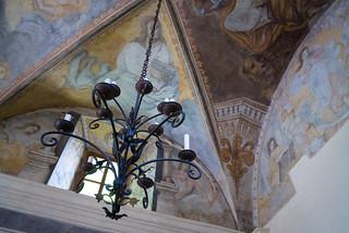 la chiesa di Bordei . Centovalli Ticino