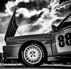 Profile Lancia delta HF integrale (Zazarel) Tags: pentax k3 18250mm sigma car noiretblanc rallye