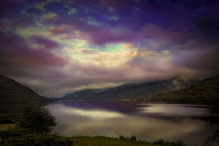 View of Loch Long (Kati471) Tags: lochlong arrochar scotland water cloud sky landscape colour schottland landschaft himmel wolken wasser blickaufdenlochlong berge mountains fog nebel