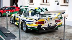BMW Art Car (m.grabovski) Tags: bmw art car zamek ujazdowski warszawa warsaw polska poland mgrabovski m1 procar andy warhol 320i turbo roy lichtenstein
