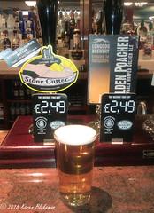 May 18th, 2018 Today's Tipple  - Stone Cutter (karenblakeman) Tags: baroncadogan pub caversham uk beer ale lymestonebrewery stonecutter longdogbrewery goldenpoacher may 2018 2018pad reading berkshire