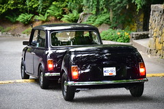 Mini with trailer (D70) Tags: allbritish field meet vandusen botanical garden vancouver bc canada mini with trailer