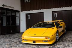 Classic Diablo (Nico K. Photography) Tags: lamborghini diablo yellow classic supercars rare nicokphotography switzerland schindellegi