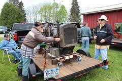 Newfane 066 (23) (swi66) Tags: dunkirk hit miss motors diesel cannons farm tractor john deere antique historical