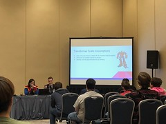 Science of Giant Robots Panel (blueZhift) Tags: animecentral2018 acen 2018 cosplay anime manga comics videogames costume cartoons scifi fantasy