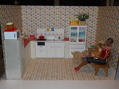 room cupcake kitchen 1 (chinadreammommy) Tags: doll miniature 16 diorama barbie rement