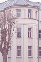 My city architecture. (izzistudio) Tags: buy photography print etsy shop izzistudio building house home windows pink roof tree architecture european liepaja canon600d latvia