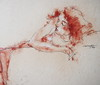P1018106 - Copy (Gasheh) Tags: art painting drawing sketch portrait figure girl line pen color pastel gasheh 2018