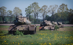 Battlezone (SurfacePics) Tags: patton m47patton niedersachsen lowersaxony deutschland germany europa wiese feld natur nature schiesplatz löwenzahn mai 2018 surfacepics hartziele targets tank tanks panzer panzerwrack wrack abandoned decay bundeswehr amazing stunning schrott rusty rost militär military army wrecked wreck lostplace urbex urbanexploring urbanexploration urbexpeople sky himmel blau gelb yellow peace ruins nordwesten norddeutschland sögel wahn sonyalpha77ii cam sonyalpha kamera photo photography foto fotografie emsland gun kanone great spring outdoor warpigs