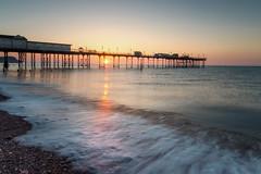 Teignmouth Sunrise (Rich Walker75) Tags: teignmouth devon beach beaches pier water sea wave sunrise dawn morning seascape seascapes landscape landscapes landscapephotography canon efs1585mmisusm eos eos80d greatbritain england